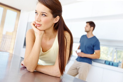woman-thinking-about-her-relationship-with-man